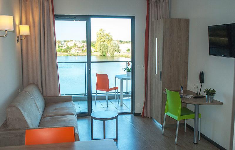 R sidence h teli re bordeaux lac bruges appart h tel for Appart hotel long sejour bordeaux