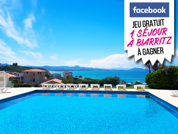 Read more : Facebook game: 1 trip to Biarritz to win!
