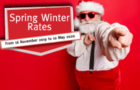 "Read more : Top start: the ""Winter-Spring 2019/2020"" availability, offers & rates are online!"